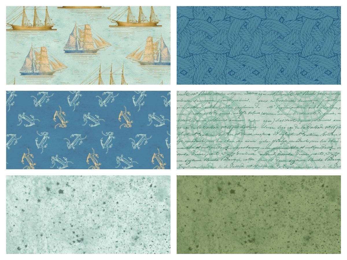 Tall Ships Fabrics