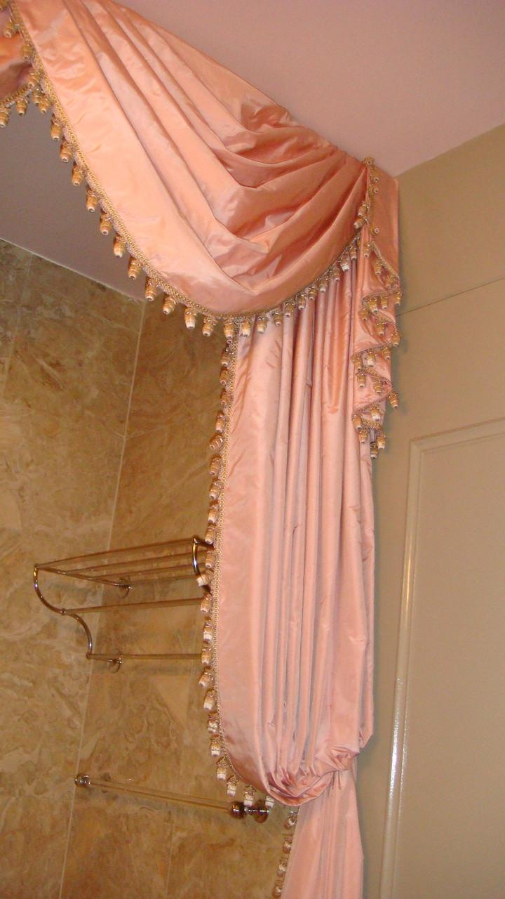 Shower Curtains & Bathroom Curtain Treatments