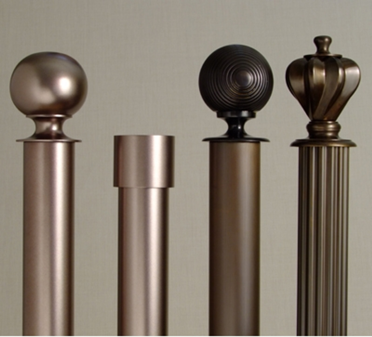 Designer Metal Curtain Hardware