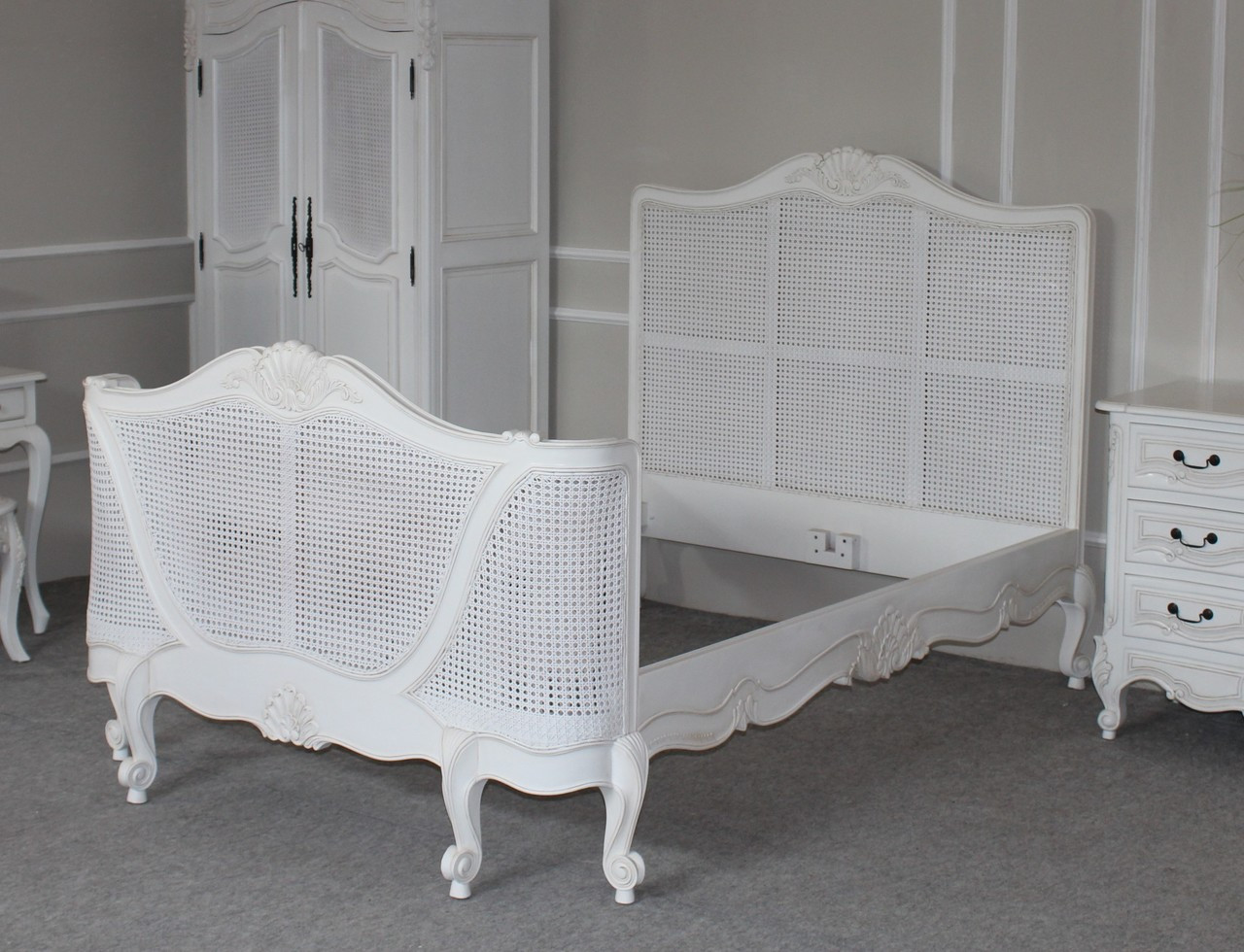 French Rattan Bedroom Furniture