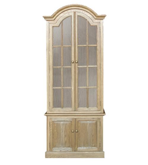 Oak Two Door Bookcase