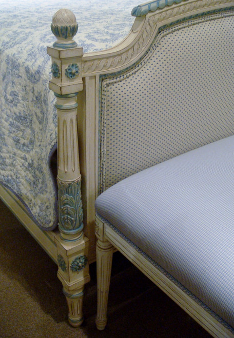 Louis XVI Bed, Special finish