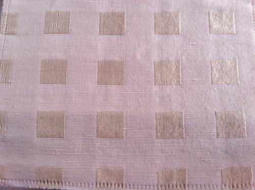 Boxes Fabric - Color Blush