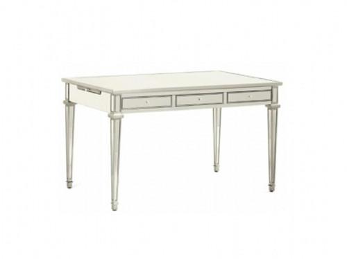 Writing Desk, Versailles-Desk Mirrored & Silver