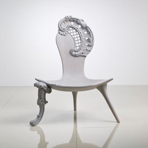 Rococo Chair, White Modern Style