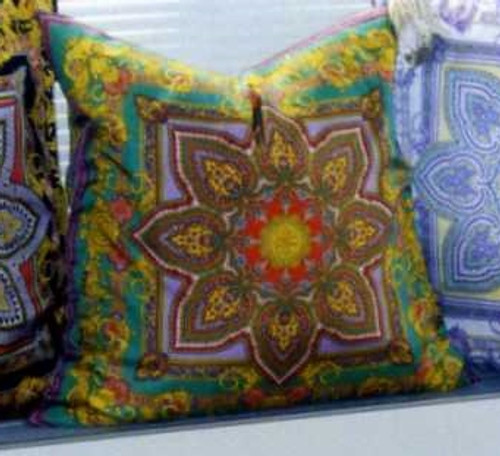 Luxury throw pillows by Thundersley Home Essentials with fabric Designed by Gianni Versace 212 889 1917