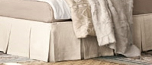 Bed Skirt, Box Pleated