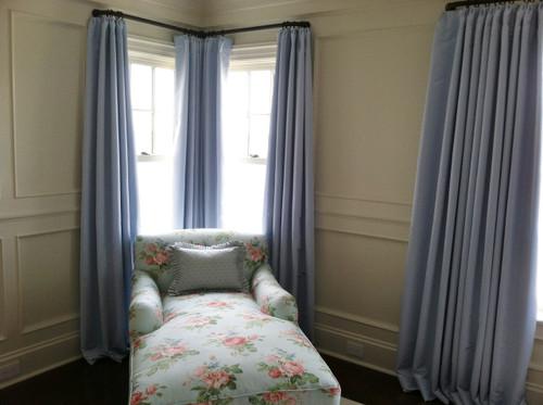 Custom Curtains, Silk Dutchess II