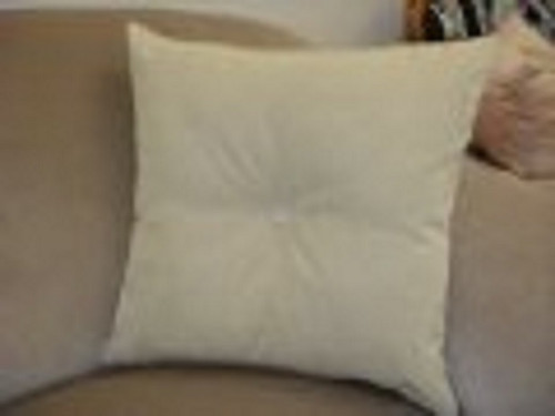 Flicker Decorative Throw Pillow in off white