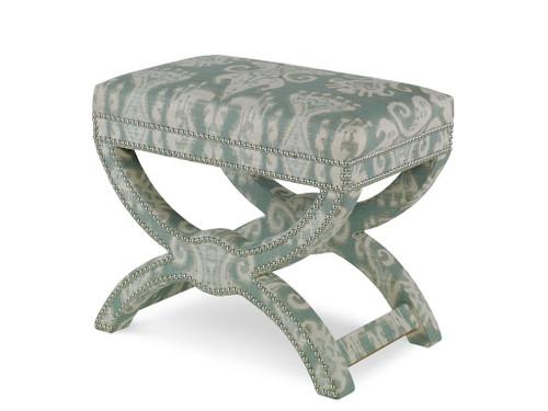 Bench X Frame I, Upholstered