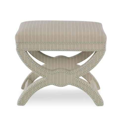 Bench X Frame III, Upholstered