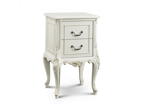 Provence Side Table, Chateau White