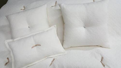 Matelasse Bedding Set, Charlotte Moss Fabric