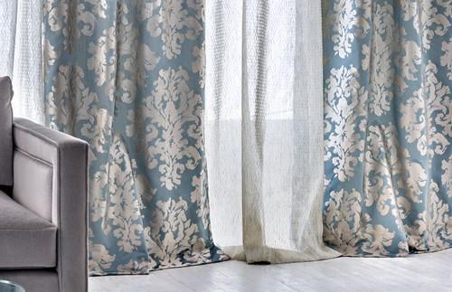 Wisp Away Fabric, Blue Opal