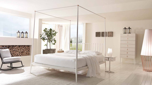 Iron Four Poster Bed