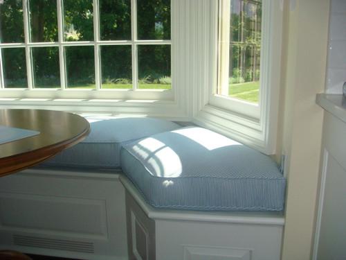 Bay Window Seat Cushion for Kitchen