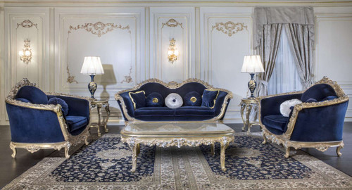 Baroque Luxury Sofa Set