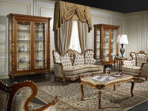 Luxury Classic Living Room Set