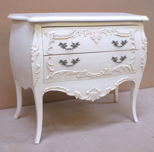 Chateau White 2 Drawer Chest