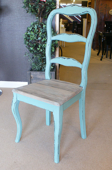 Turquoise French Dining Chair