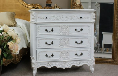 French Provincial 5 Drawer Chest
