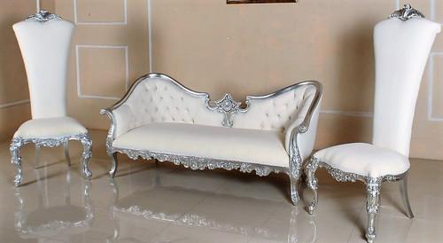 Hermes Rococo Sofa And  Chair Set