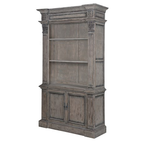 Rustic Reclaimed Bookcase With Drawers