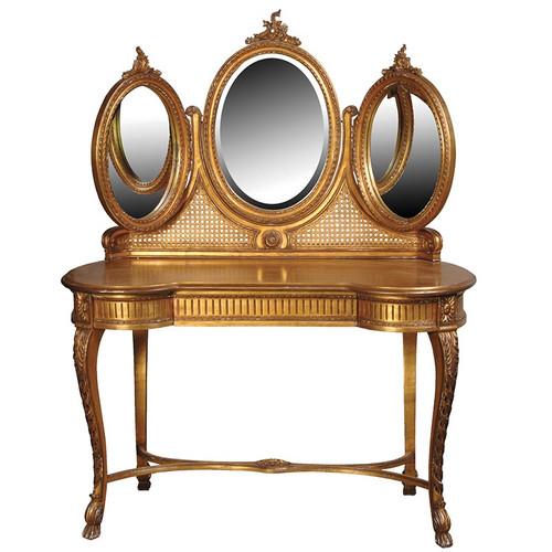 Versailles Triple Mirror Dressing Table