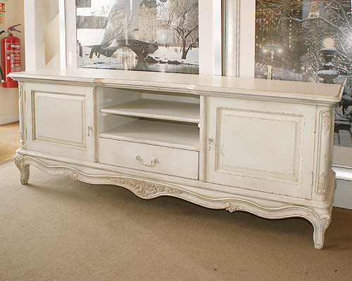 French Chateau French Ivory Low Sideboard TV Unit