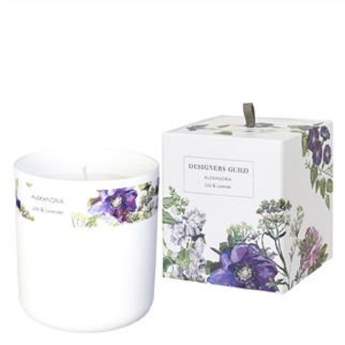 ALEXANDRIA LILAC AND LAVENDER CANDLE