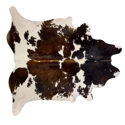 BUCKLEY COWHIDE BLACK AND WHITE