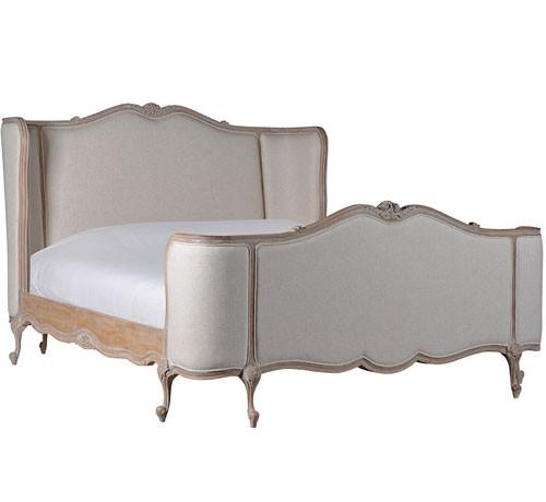 Wing Bedroom Set, Light Oak Ceruse