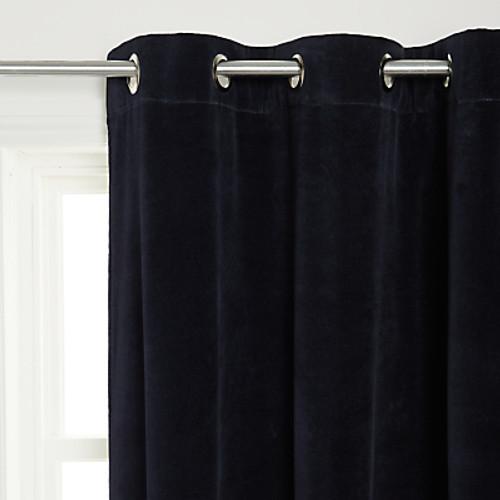 Velvet Curtains, Grommet Headed