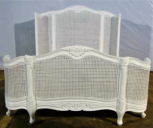 Wing Rattan Bed Frame
