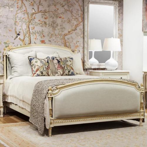 Louis XVI Bedroom Set, Antique White And Gold