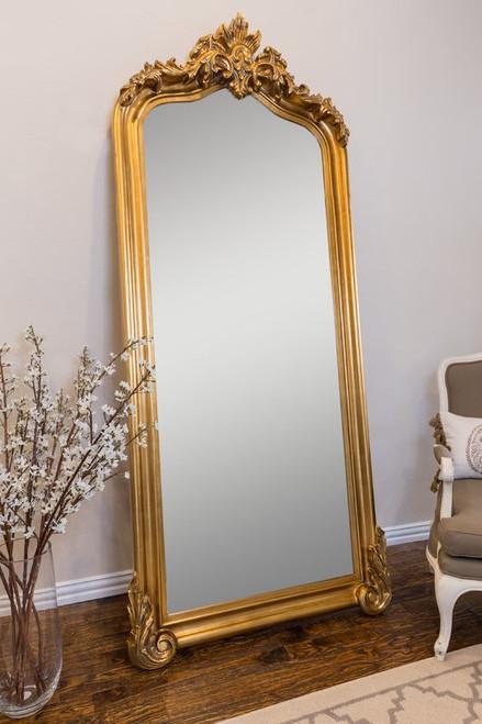 Versailles Carved Floor Mirror
