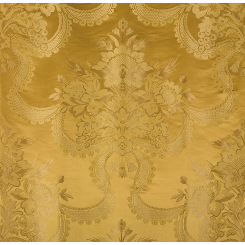 SCALAMANDRE REALE NASTRI GOLD FABRIC BY THE YARD