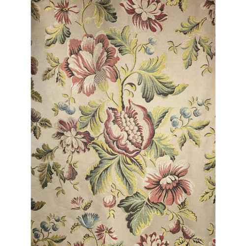 SCALAMANDRE SEICENTO PEONY  FABRIC BY THE YARD