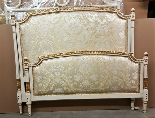 louis XVI Bed cream and gold