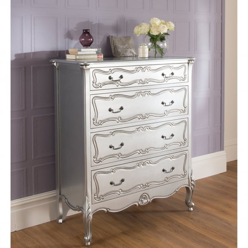 Provincial Luxury Carved Chest of Drawers