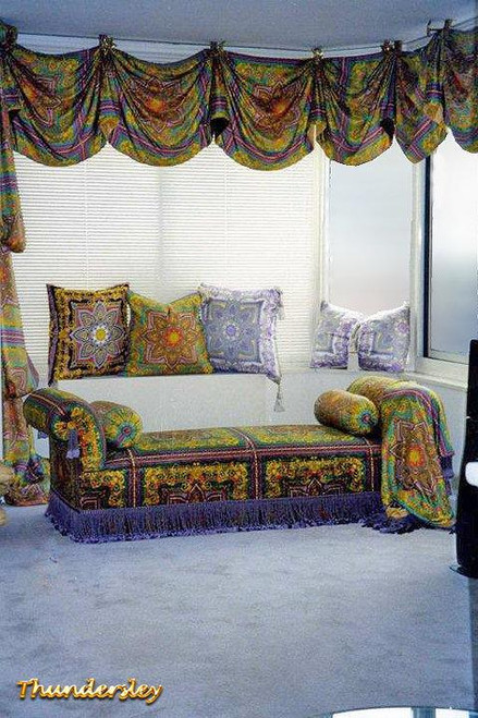 Versace Curtains & Daybed