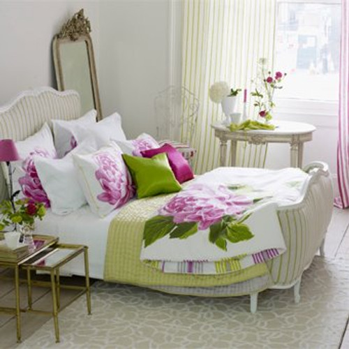 Classic Louis XV Bed, Upholstered Bed