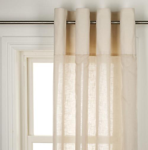Sheer Curtains, Cream