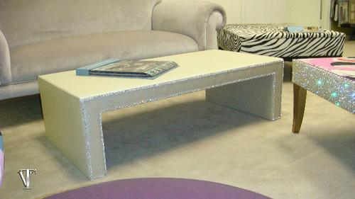 Luxury Coffee Table, The Chelsea Diamante' Coffee Table