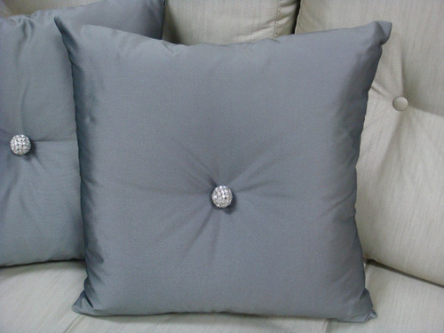 Carnaby Street Throw Pillow from Thundersley Home Essential's Diamante Collection, fabric by Designer Guild....212 889 1917