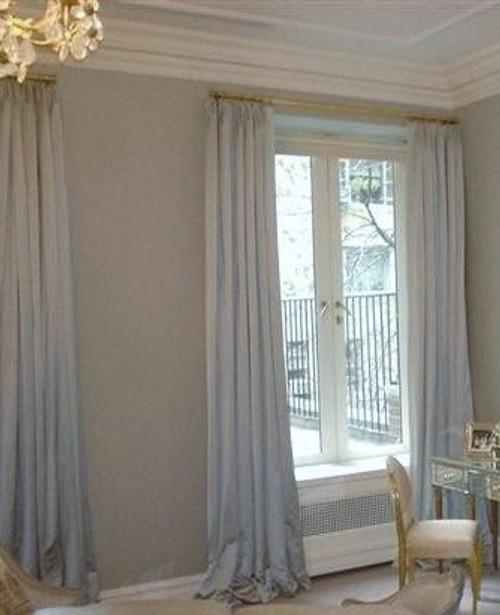Custom Curtains, Silk Dutchess