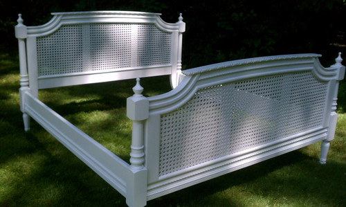 Chateau French Rattan Bed, King