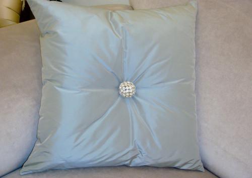 Designer Throw Pillow, Bling Swarovski