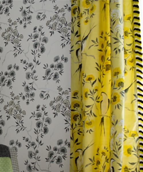 amrapali fabric jacaranda x 3 colours By Designer Guild