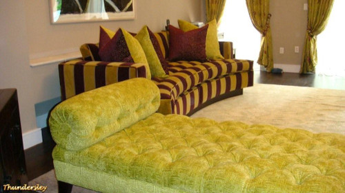 South Kensington Chaise Lounge Tufted
